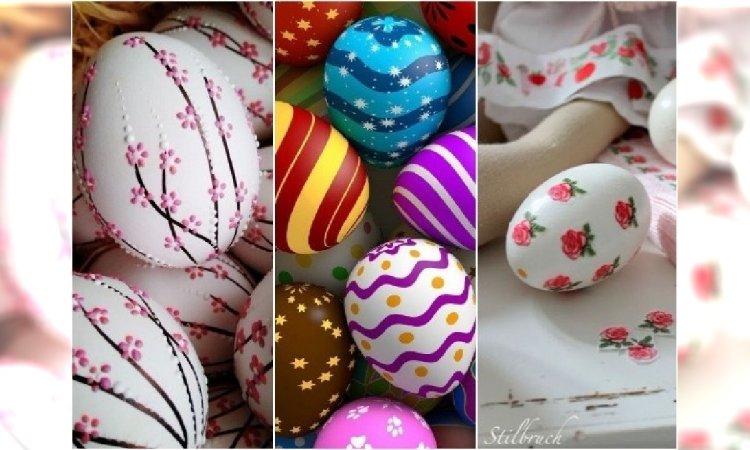 Oryginalne pomysły na PISANKI WIELKANOCNE. Wpadlibyście na to, żeby tak udekorować jajka?