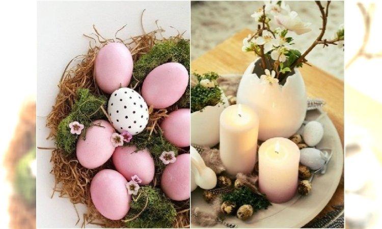 Robimy stroik na Wielkanoc! Proste kompozycje z kwiatami i pisankami