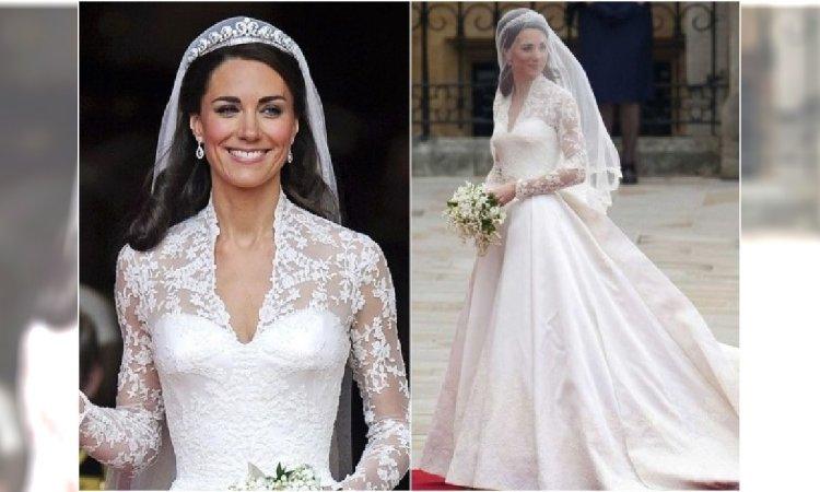 1184c92955 Pamiętacie suknię ślubną księżnej Kate  Teraz podobną można kupić w H M. I  to za jaką cenę!