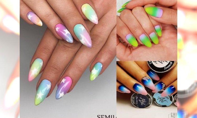 Ombre manicure - najpiękniejsze pomysły na wakacyjne stylizacje!