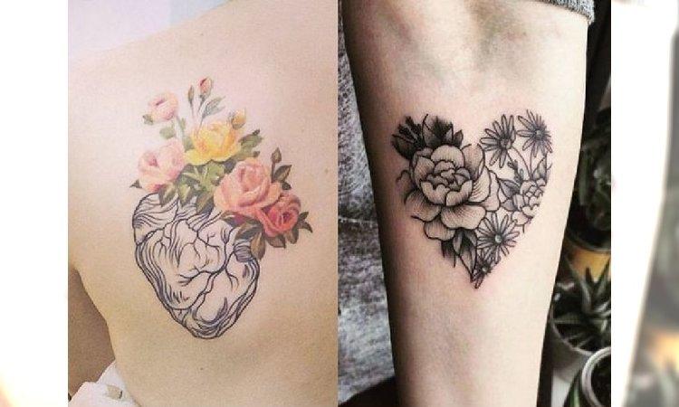 Tatuaże Serce Najpiękniejsze Wzory Anatomiczne I Tradycyjne