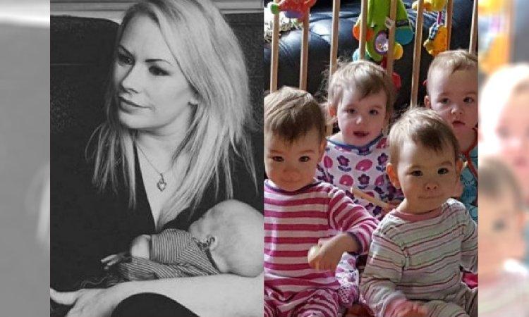 Straciła czwórkę dzieci, a teraz jest mamą CZWORACZKÓW! I pomyśleć, że lekarz doradzał jej ABORCJĘ...