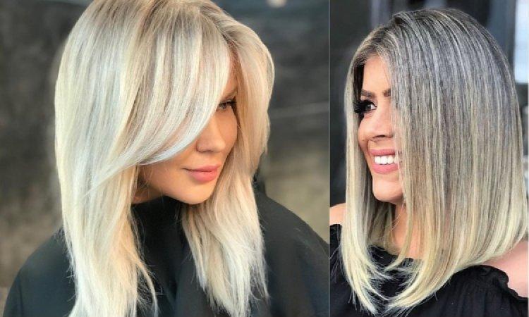Fryzury średnie 2019 Modne I Bardzo Kobiece Cięcia Włosów Do Ramion