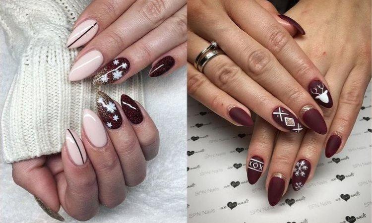 20 nietuzinkowych pomysłów na świąteczny manicure! [GALERIA]