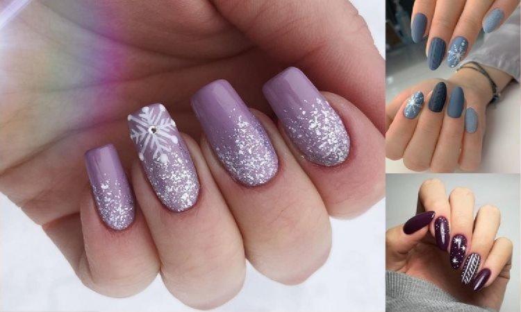 19 propozycji na śnieżny manicure - galeria ślicznych, zimowych zdobień