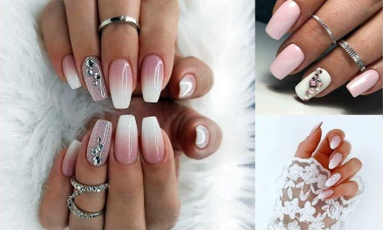 21 pomysłów na ślubny manicure - galeria najpiękniejszych zdobień