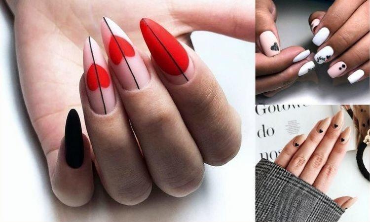 Walentynkowy manicure 2019 - galeria najpiękniejszych pomysłów