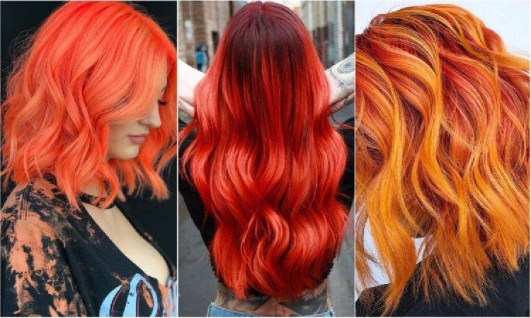 Modne Kolory Włosów 2019 Rudości I Czerwienie W
