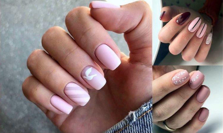 Różowy manicure - galeria gustownych i stylowych zdobień