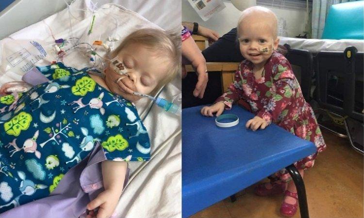Ta dziewczynka przeszła rok temu udany przeszczep wątroby, lecz teraz okazuje się, że cierpi na nowotwór dawcy!