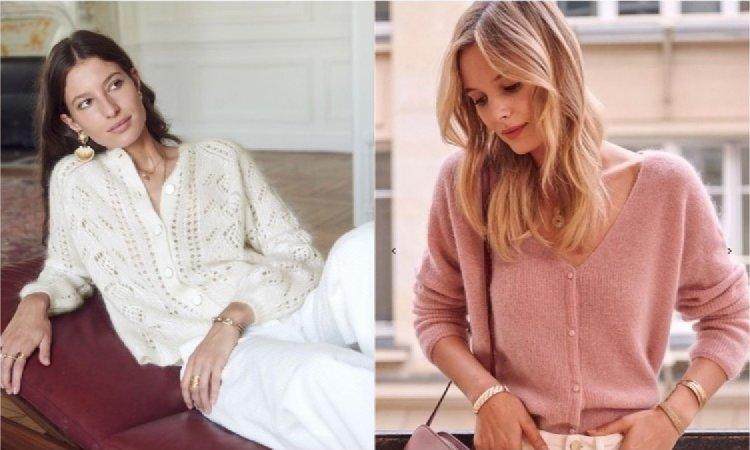 Kardigan z guzikami - modny sweter na wiosnę 2019! Jak go nosić?