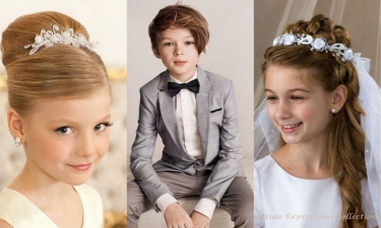 Fryzury komunijne, w których się zakochacie! Oto najmodniejsze propozycje dla chłopców i dziewczynek