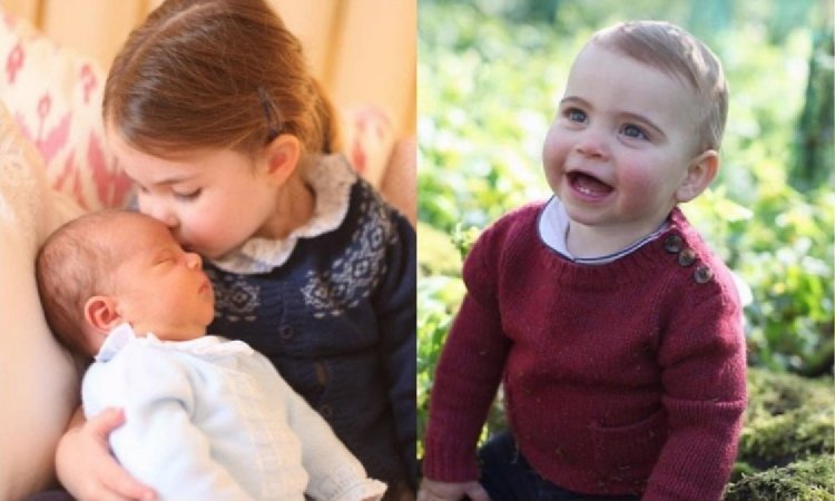 Dziś książę Louis kończy roczek! Z tej okazji mama Kate zrobiła mu urocze zdjęcia!