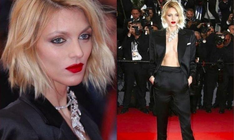 Anja Rubik świeci nagą klatą na czerwony dywanie Cannes! Fotografowie czyhali tylko na jedną okazję...