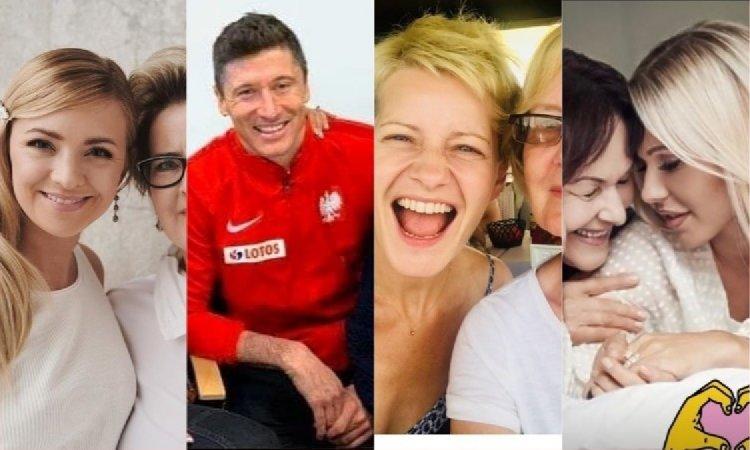 Dzień Matki: Gwiazdy pokazują swoje mamy. Lewandowscy, Majdan, Trybson, Marina i inni (ZDJĘCIA)