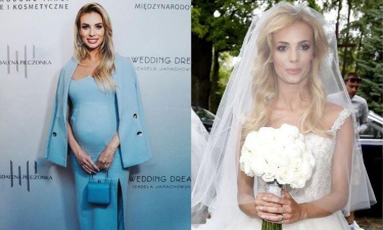 Izabela Janachowska niedawno została mamą. A pamiętacie, jaką miała suknię ślubną?