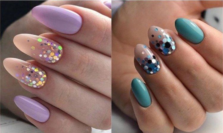 Kolorowy manicure: Confetti Nails - nowy trend w zdobieniu paznokci na wiosnę i lato 2019