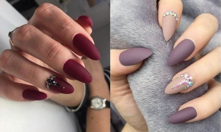 Matowy manicure - najpiękniejsze inspiracje z Instagrama