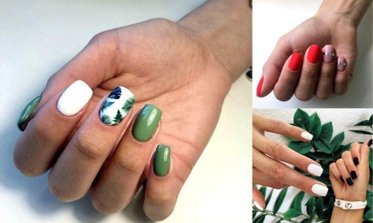 Manicure dla krótkich paznokci - galeria najlepszych propozycji na lato 2019