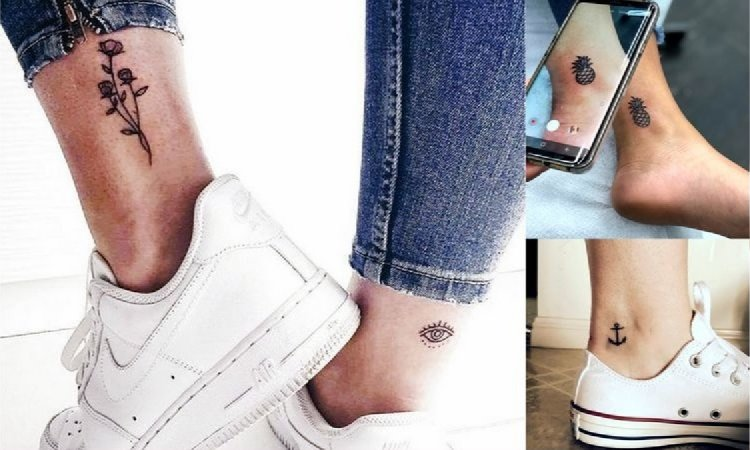 Tatuaż w okolicy kostki - 25 oryginalnych i pięknych wzorów, które Cię urzekną