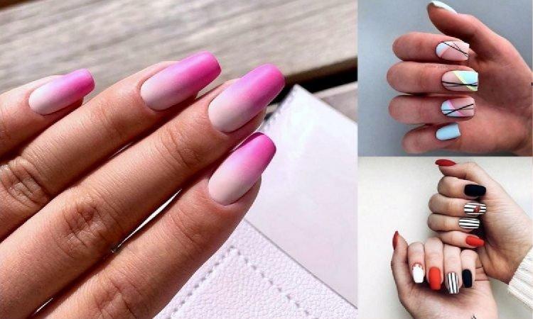 Matowy manicure - 20 niesamowicie stylowych zdobień