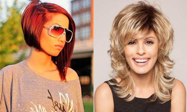 Modne fryzury średnie 2019/2020 - najpiękniejsze cięcia z grzywką i bez. Bob, cieniowane, pixie cut