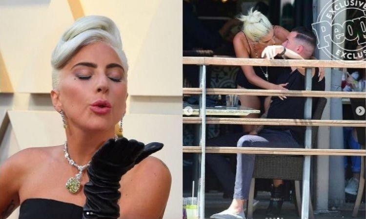 """Lady Gaga przyłapana na pocałunkach z innym mężczyzną! Ci, którzy marzyli o """"Bradga"""", są głęboko rozczarowani..."""