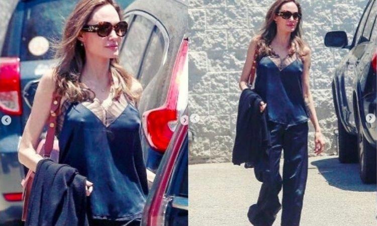 Wątła Angelina Jolie pokazuje sutki, jednak fani zwrócili uwagę głównie na przerażająco chude ramię!