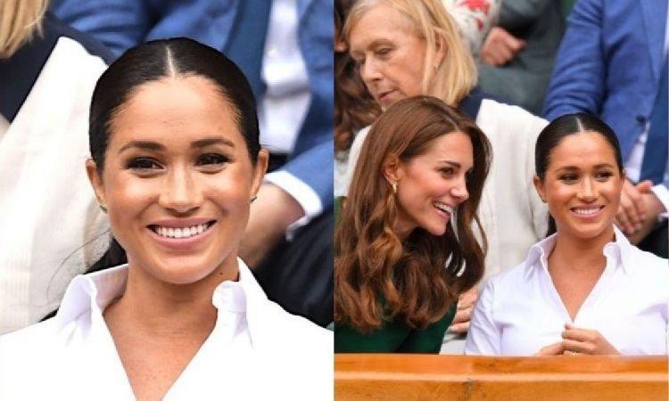 Meghan Markle podjęła wyzwanie! Usiadła na trybunach Wimbledonu, obok księżnej Kate. Która z nich wyglądała lepiej?