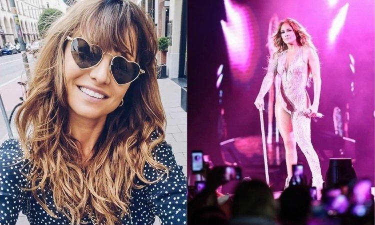 "Anna Lewandowska pozuje z Jennifer Lopez! Fani zaskoczeni figurą J.Lo. ""Jaka ona drobna"""