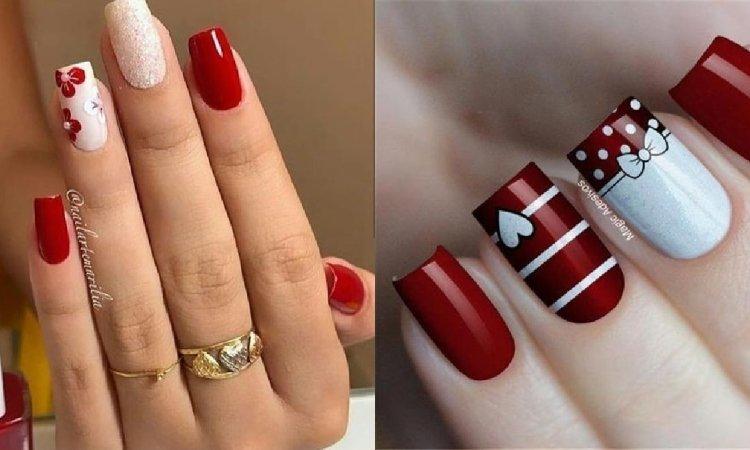Czerwone paznokcie - ogniste inspiracje na wzory paznokci [GALERIA]