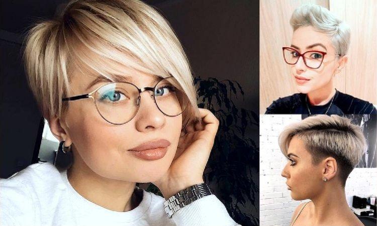 Fryzury pixie i undercut dla blondynek - trendy 2019/2020