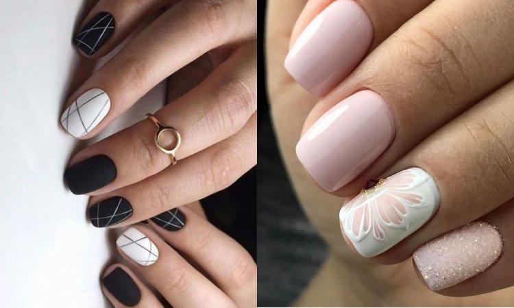 Manicure dla krótkich paznokci - modne wzory paznokci [GALERIA]