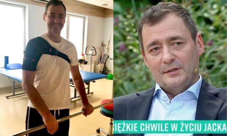 Jacek Rozenek pierwszy raz o udarze: Byłem w stanie terminalnym. Lekarze nie dawali mi szans