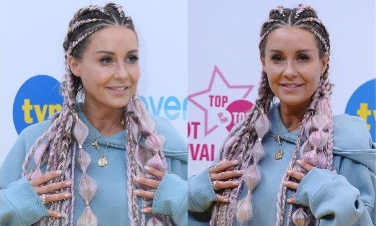 Małgorzata Rozenek na festiwalu w Sopocie chciała odmłodzić się fryzurą. Fani nie są przekonani: Wiemy, że ma pani kompleks na punkcie starości