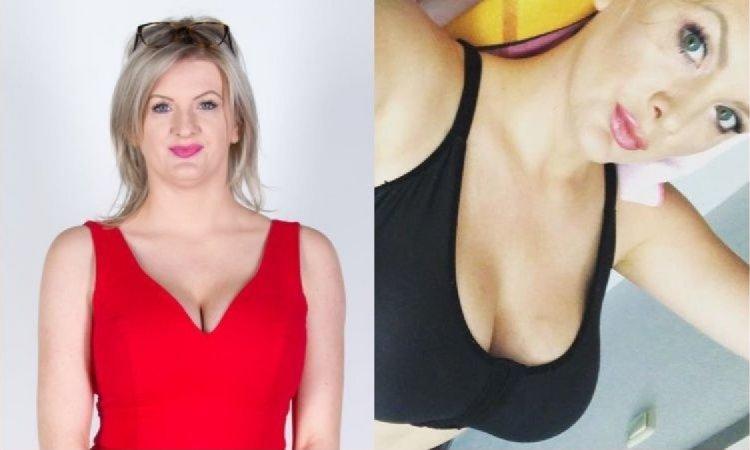 """Karolina """"Brigitte"""" Plachimowicz z """"Projektu Lady"""" znów pokazała NAGIE ZDJĘCIE! Na pierwszym planie jej ogromne, przerobione piersi!"""