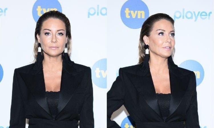 Małgorzata Rozenek na ramówce TVN cała w czerni. Ale my patrzymy na jej nową fryzurę!