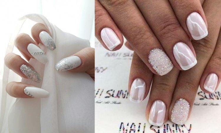 Ślubny manicure w 20 najpiękniejszych wydaniach. Trendy 2019/2020 [GALERIA]