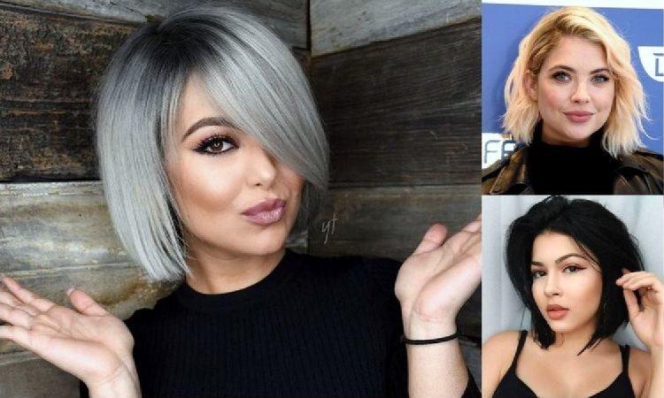 Genialne fryzury dla okrągłej twarzy - 25 efektownych cięć