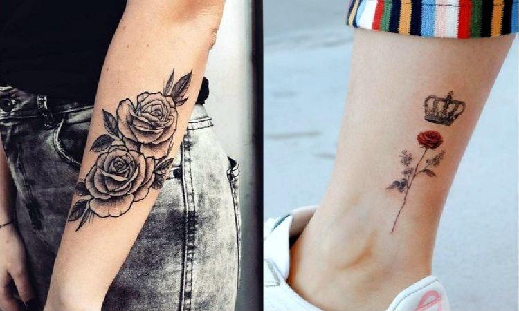 Tatuaż róża - galeria fantastycznych wzorów dla kobiet