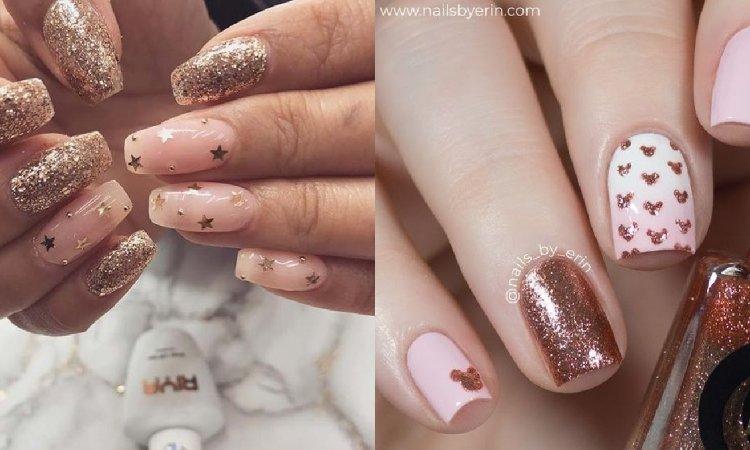Złoty manicure - ponadczasowe wzory paznokci [GALERIA]