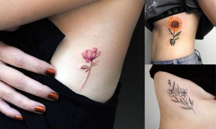 Tatuaż na żebrach - galeria najpiękniejszych propozycji