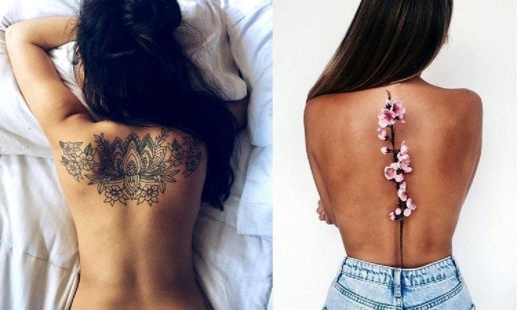 Tatuaże na plecy - 20 urzekających wzorów dla dziewczyn