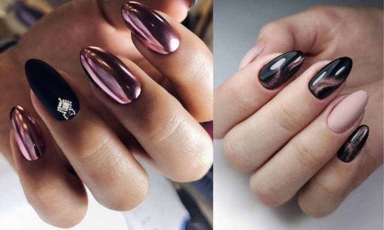Sylwestrowy manicure - galeria stylowych zdobień 2019/2020
