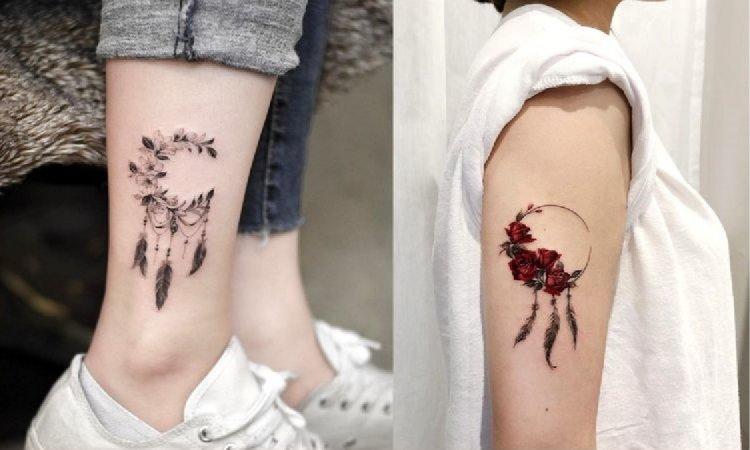 Tatuaż łapacz snów - 15 niesamowitych i kobiecych wzorów