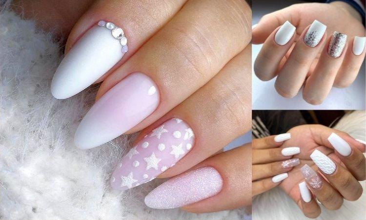 Biały manicure - 20 subtelnych i pięknych zdobień