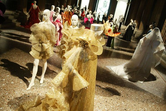 Wystawa prac Pierre Cardin Design & Fashion 1950-2005 w Wiedniu