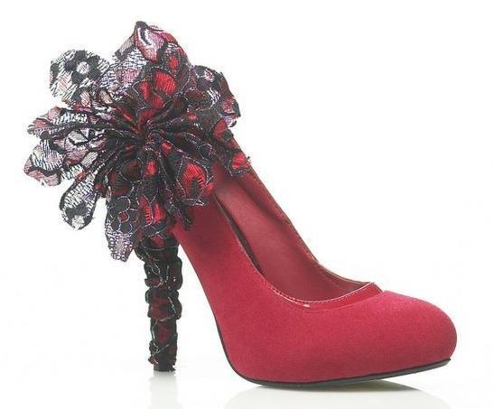 Heel condoms w stylu flamenco