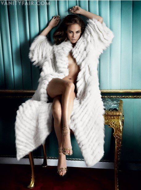 Jennifer Lopez w Vanity Fair /Vanityfair.com