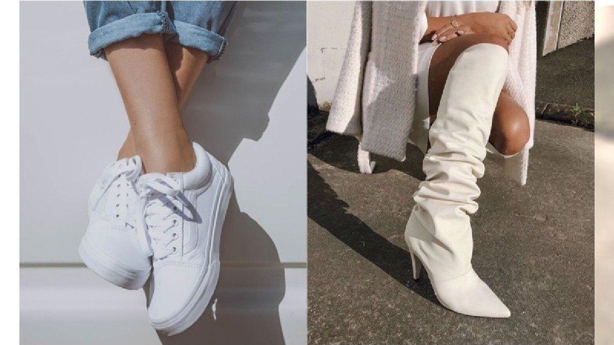 Białe buty must have na sezon wiosna lato 2019. Jak nosić